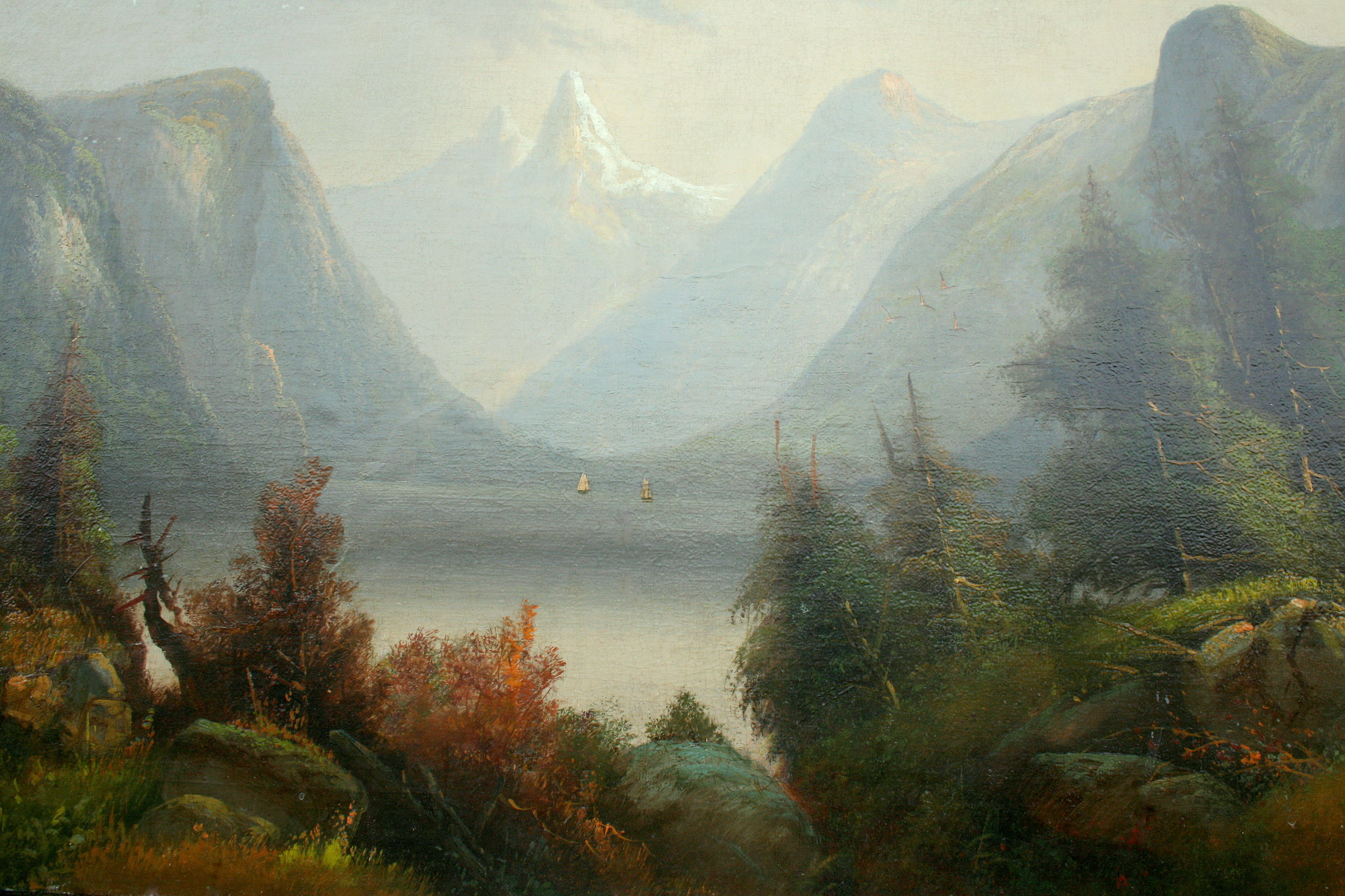 hudson river school paintings for sale