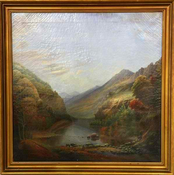 School Of Thomas Doughty Hudson River School Artwork For